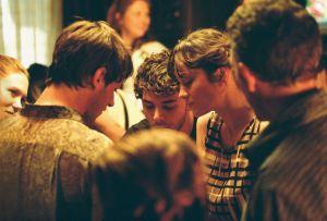 Xaveir Dolan au centre sur le tournage de Juste la fin du monde ( Grand prix du Jury , Cannes 2016