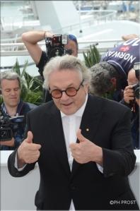 Cannes 2016 - Le président du Jury : George Miller ( Photo : Philippe Prost )