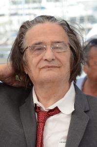 Jean -Pierre Leaud , Palme d'honneur du Festival de Cannes ( Phoyo Philippe Prost )