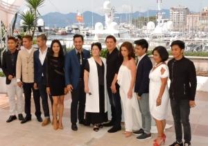 l'équipe du film Ma Rosa de Brillante Mendonça