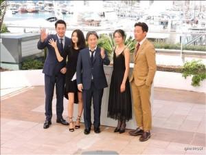 l'équipe du Film Mademoiselle de Park Chan-Wook