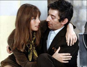 Jane Birkin et Serge gainbourg .