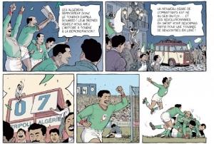 Un maillot pour l'Algérie - Extrait d'une planche