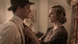 Max ( Colin Fith ) et sa femme ( Laura Linney)