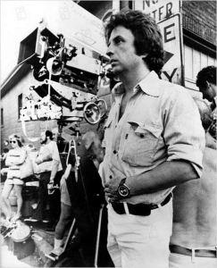 Michaël Cimino sur un tournage