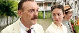 Stefan Zweig ( Josef Hader )  au Brésil  en compagnie de sa  seconde femme , Lotte ( Aenne Schwartz)