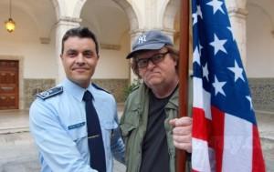 Michaël Morre red visite à la Police Portuguaise