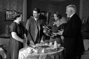 Adrien avec la famille  et la fiancée  de Frantz
