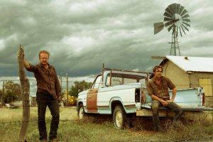 Les deux frères braqueurs : Chris Pine et Ben Foster ...