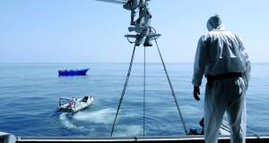 une intervention de seocurs en mer