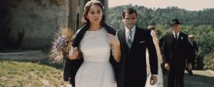 Gabrielle ( Marion Cotillard ) et José ( Alex Brendeühl ) , se marient ..