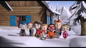 Sortie du groupe en classe de neige...
