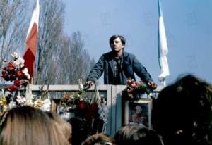 une Scène de l'homme de fer (Palme d'or Cannes 1981 )