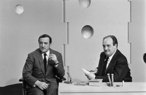 lino Ventura invité sur le plateau de Monsieur Cinéma...