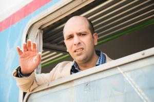 Une scène de Quo Vado? de Gennaron Nunziante, succès du Box office Italien