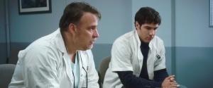 Les médecins : Bouli Lanners ( à gauche ) et Tahar rahim