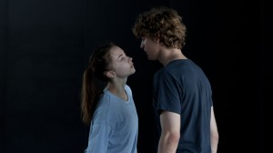 Polina avec son petit ami danseur Français ..;