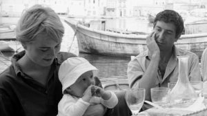 Marianne Ihlen et Léonard Cohen