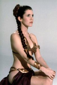 Princesse Léïa en Bikin dans Le Retour Du Jedi