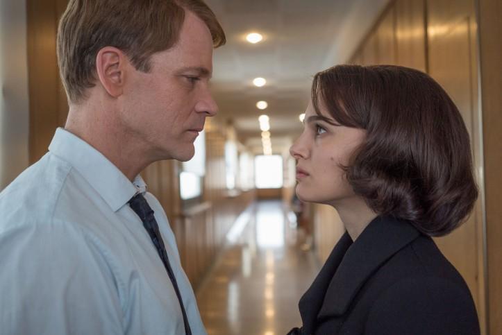 Jackie ( Natalie Portman ) et Bobby Kennedy ( Peter Sarsgaard )