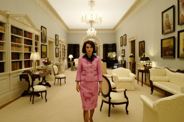 Jackie ( Matalie Portman ) à la Maison Blanche