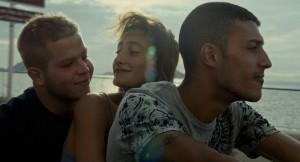 """Le """"trio"""" devenu inséparable ;: Lola Creton , Alain demaria et Kamel Kadri"""