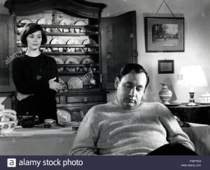 Une scène de Thérèse Desqueyroux ; Emmanulle riva et Philippe Noiret.