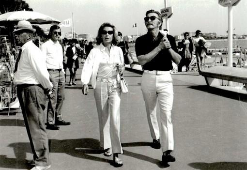 CiaoViva Cannes 2017 - Kirk Douglas et sa femme 1970