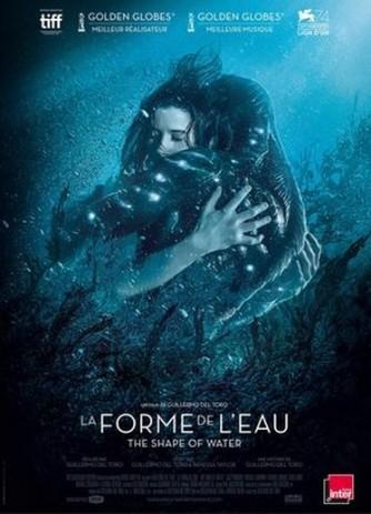 La Forme de l'eau Affiche