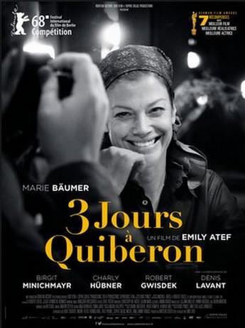 3 Jours à Quibeon - Sophie Dullac - Affiche