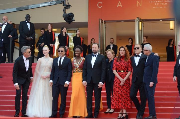 Cannes 2019 - Pawel Pawlikowski, Elle Fanning, Alejandro Gonzalez Inarritu, Maim (2)