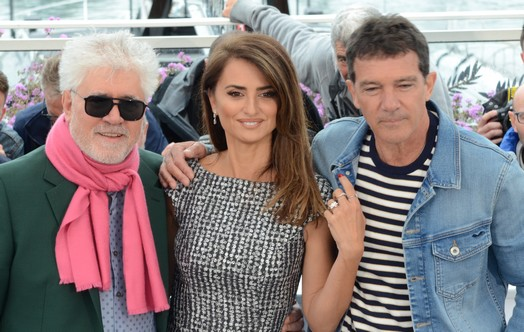CiaoViva -Cannes 2019 -Pedro Almodovar, Penelope Cruz, Antonio Banderas (1)