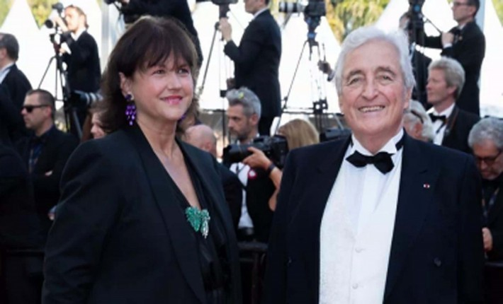 CiaoViva - Jean-Loup Dabadie et son épouse - Festival de Cannes 2019 - Photo Philippe Prost