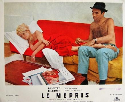 CioaViva - Michel Piccoli - Le Mépris - Photo d'exploitation Cocinor - Crédit photo DR