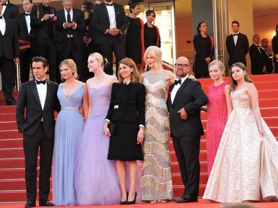 CiaoViva - Les Proies - Montée des marches - Festival de Cannes - Crédit photo Philippe Prost