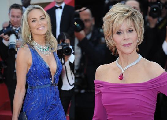 CiaoViva - Sharon Stone - Jane Fonda - Festival de Cannes - Crédit photo Philippe Prost