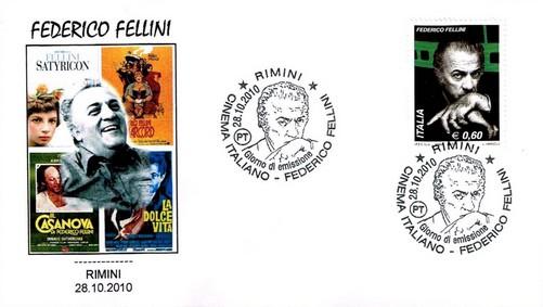 CiaoViva - Hommages Fellini - Poste Italienne 2010